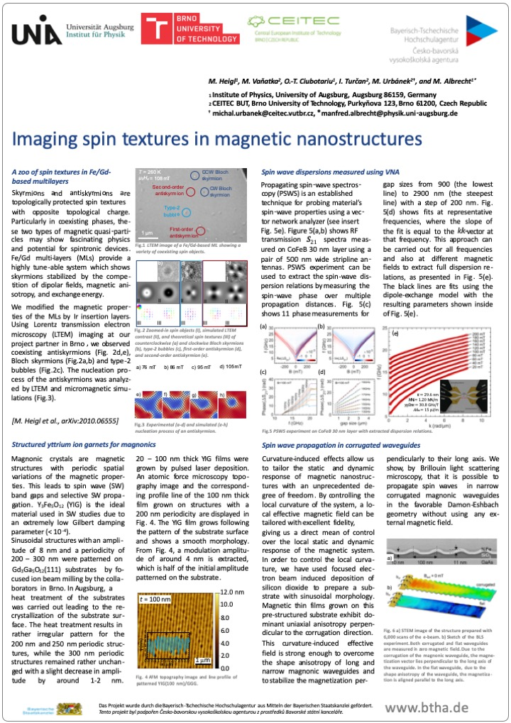 04 Poster BTHA JC 2018 16 Magnetic Nanostructures
