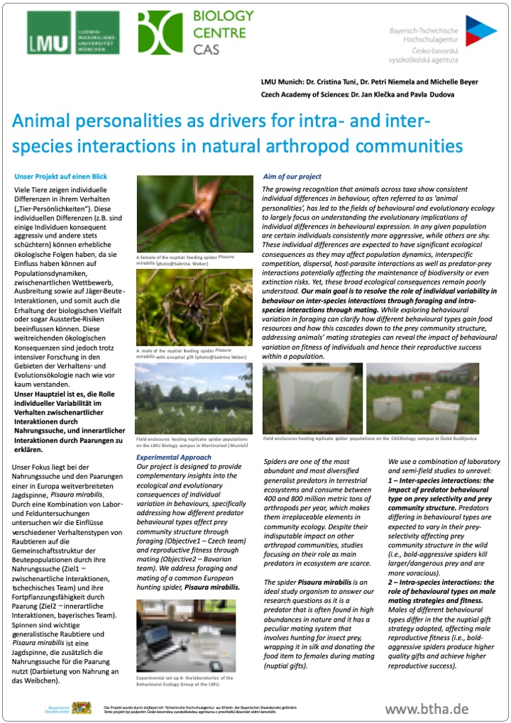 06 Poster BTHA JC 2019 18 Animal Personalities